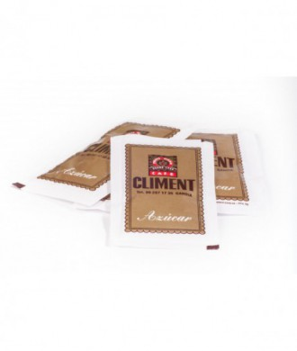 AZUCAR CLIMENT en bolsitas en envase de 750 gr.