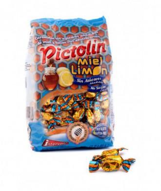 CARAMELOS PICTOLIN MIEL Y LIMON 80 gr