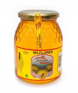 MIEL MIL FLORES FERRANDO 1Kg
