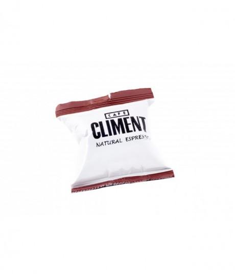 Cápsulas de Café natural expreso de Climent unidad