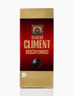 CAPS. CAFE DESCAFEINADO CLIMENT COMPATIBLES DOLCE GUSTO 10 u.