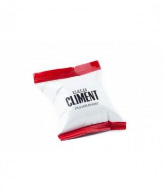 Café en capsulas descafeinado Climent. unidad