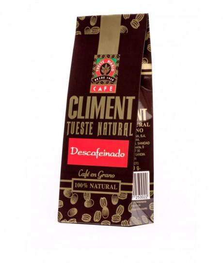 Paquete de Café descafeinado Climent, de 125 gr