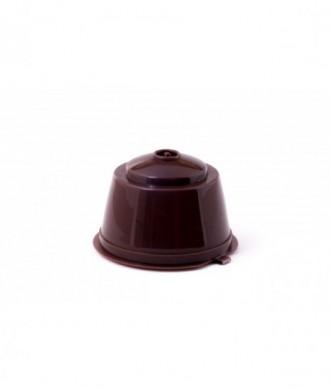 Cápsula de café recargable compatible Dolçe Gusto, unidad